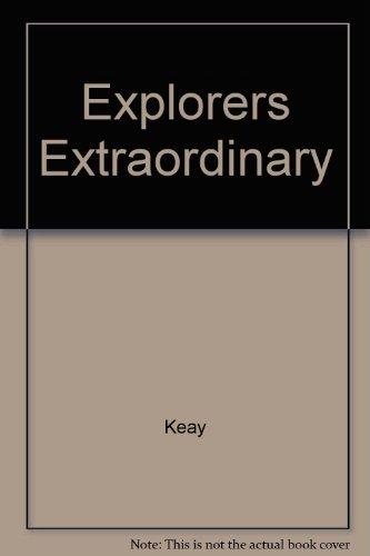 9780563203919: Explorers Extraordinary