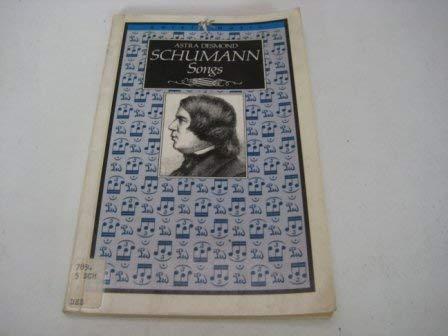 9780563205562: Schumann Songs