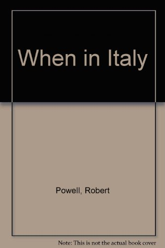 9780563214816: When in Italy