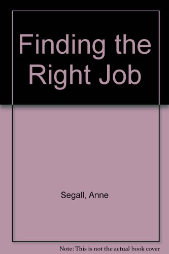 9780563215455: Finding the Right Job