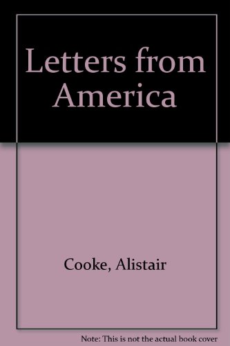 9780563222583: Letters from America