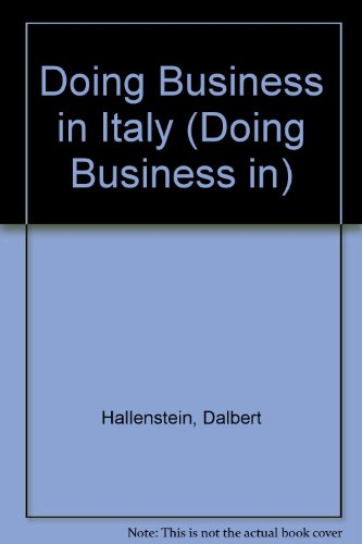 9780563361640: Doing Business in Italy