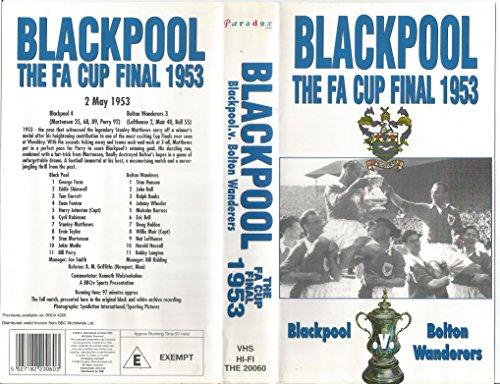 9780563411949: Fa Cup Final 1953: Blackpool V Bolton [VHS]