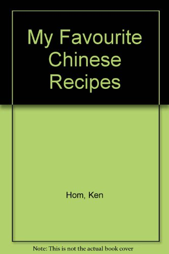 9780563487265: My Favourite Chinese Recipes