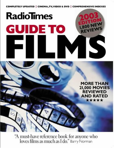 "9780563488453: ""Radio Times"" Guide to Films 2003"