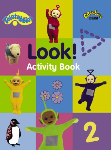 Activity Book-Look (Teletubbies)