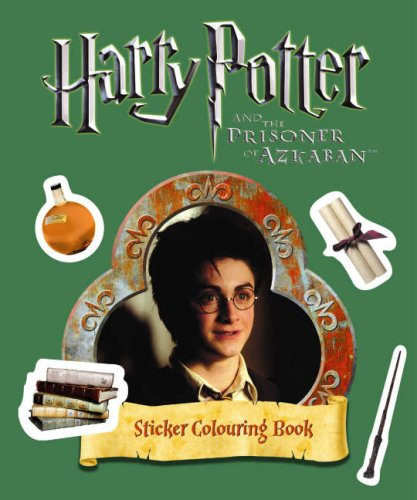 9780563492627: Harry Potter and the Prisoner of Azkaban: Sticker Colouring Book