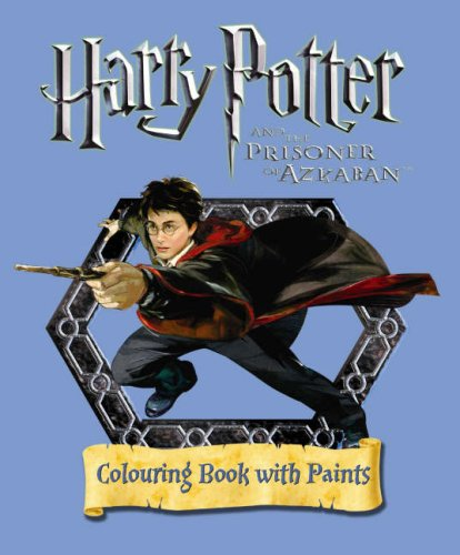 9780563492641: Harry Potter and the Prisoner of Azkaban: Colouring Book with Paint Pots