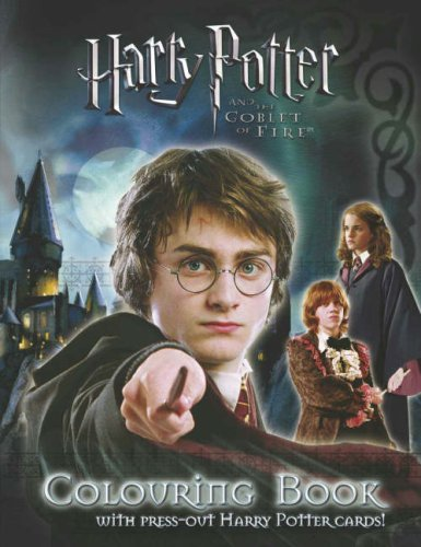 """""""Harry Potter and the Goblet of Fire"""": Colouring Book with Cards: Penguin Books (BBC)"""