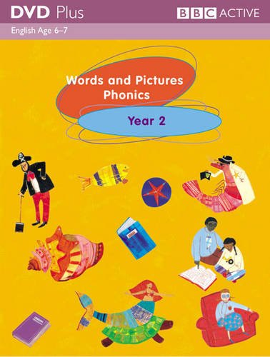 9780563500599: Words and Pictures Phonics Year 2 DVD Plus