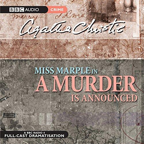 A Murder Is Announced: Agatha Christie, Full