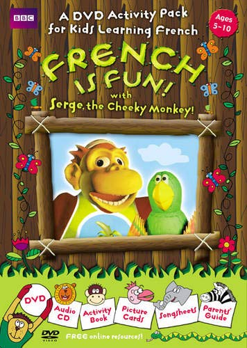 9780563520061: French Is Fun with Serge, the Cheeky Monkey! (Salut Serge)