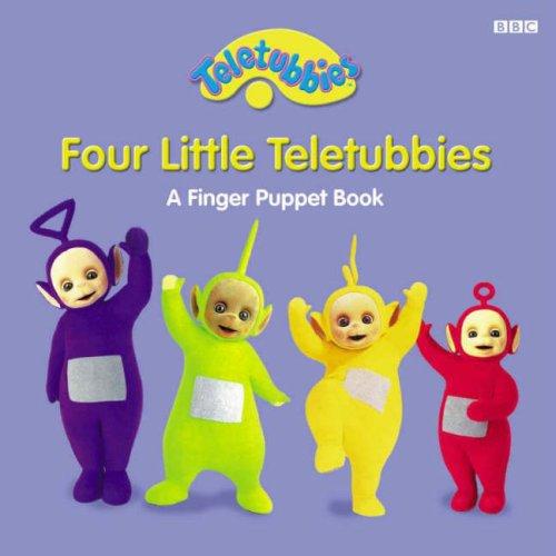 9780563532132: Four Little Teletubbies Finger Puppets Book: Four Little Teletubbies Finger Puppets
