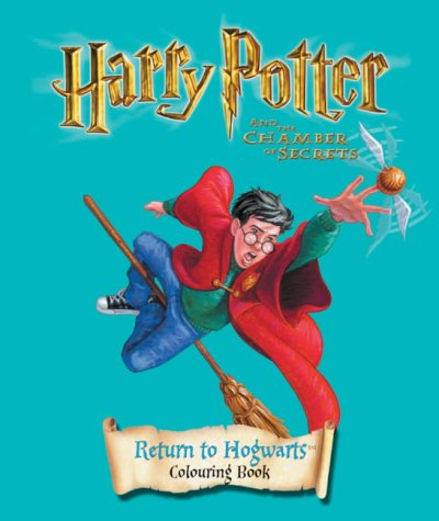 9780563532675: Harry Potter and the Chamber of Secrets: Return to Hogwarts Colouring Book