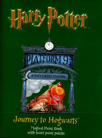 9780563533160: Harry Potter (Classic)- Magical Paint Book - Journey to Hogwarts, Th(Pb)