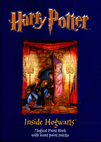 9780563533177: Harry Potter (Classic)- Magical Paint Book - Inside Hogwarts(Pb)