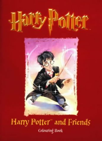 9780563533191: Harry Potter (Classic)- Colouring Book - Harry Potter & Friends(Pb): Harry Potter and Friends