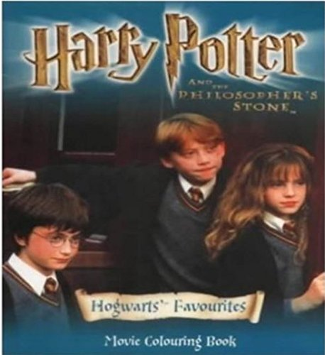 9780563533368: Harry Potter and the Philosopher's Stone: Hogwarts' Favourites - Movie Coloring Book