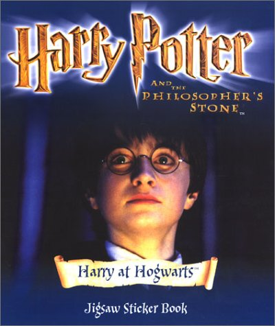 9780563533399: Harry Potter (Movie)- Jigsaw Sticker Book - Harry at Hogwarts(Pb)