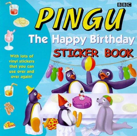 9780563555285: Pingu: Happy Birthday Sticker Book