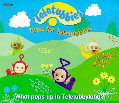 9780563555407: Teletubbies- Time For Teletubbies(Laminated): Time for Teletubbies - Lever Board Book (Teletubbies pull-up book)