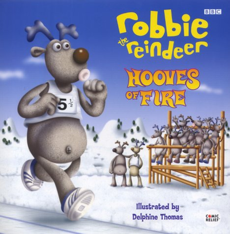 """Robbie the Reindeer"": Hooves of Fire (0563556536) by Dakin, Glenn"
