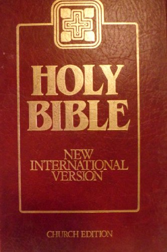 9780564052530: New International Version Church Bible - Burgundy (Church Bibles)