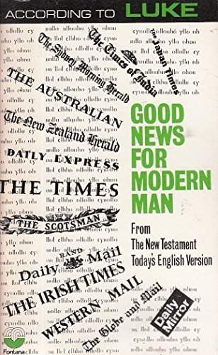 9780564065219: Good News Told By Luke: Todays English Version