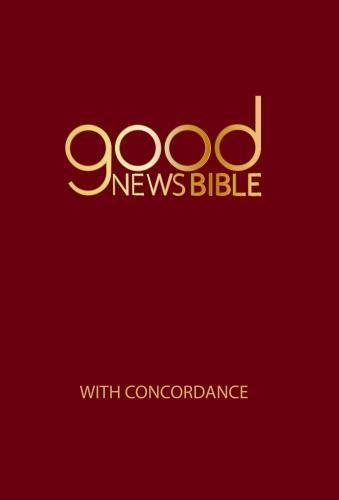 9780564071579: Good News Bible With Concordance 2018