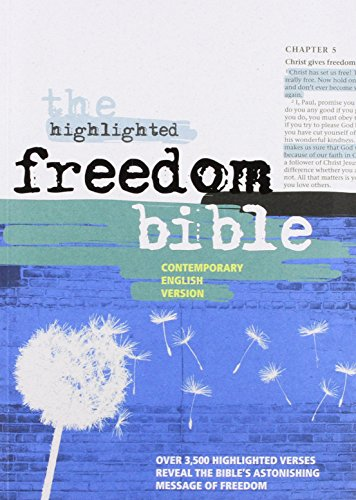 9780564090549: The Highlighted Freedom Bible: Contemporary English Version