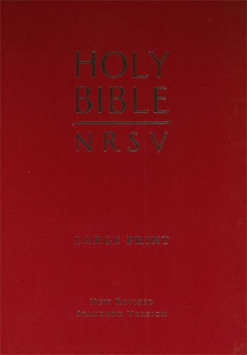 9780564094349: Large Print Holy Bible (New Revised Standard Version Bibles)