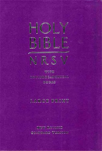 9780564094448: Large Print Catholic Holy Bible (New Revised Standard Version Bibles)