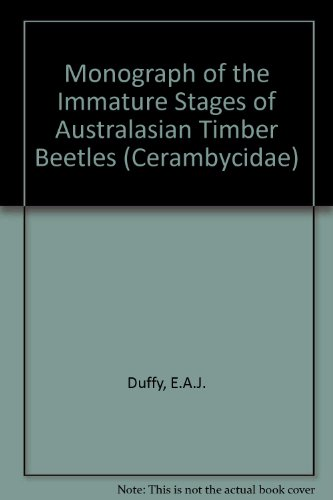 Monograph of the Immature Stages of Australasian: E.A.J. Duffy