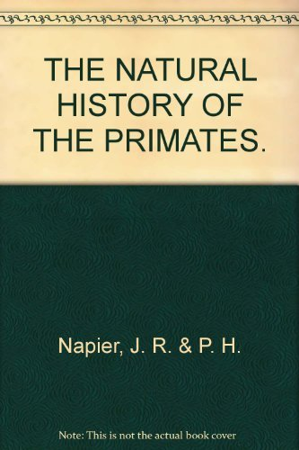 9780565010171: THE NATURAL HISTORY OF THE PRIMATES.