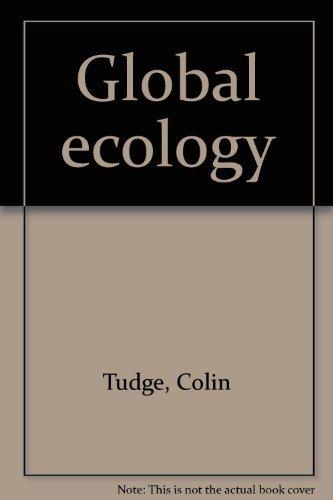 9780565011734: Global ecology