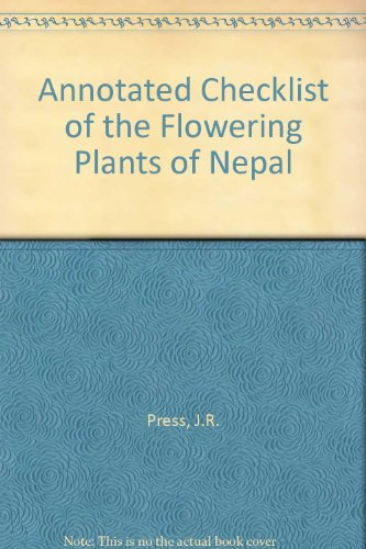 9780565091545: Annotated Checklist of the Flowering Plants of Nepal