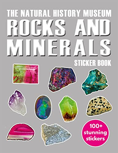 Rocks and Minerals Sticker Book: Natural History Museum