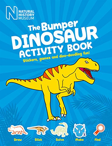 9780565093587: The Bumper Dinosaur Activity Book: Stickers, games and dino-doodling fun (Natural History Museum)