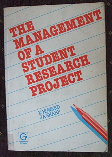 9780566006135: The Management of a Student Research Project