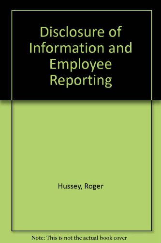 Disclosure of Information and Employee Reporting: Roger Hussey, Arthur Marsh
