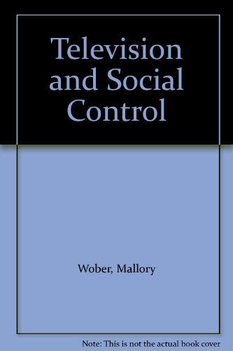 9780566007644: Television and Social Control