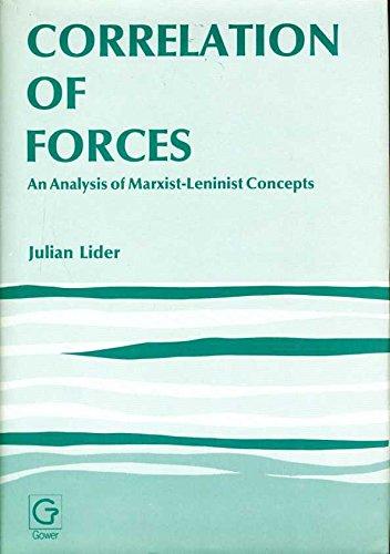 9780566009457: Correlation of Forces (Swedish Studies in International Relations)