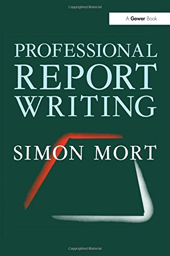 9780566027123: Professional Report Writing