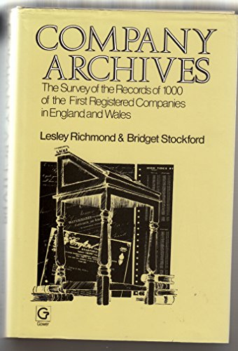 Company Archives: The Survey of the Records: Richmond, Lesley, Bridget
