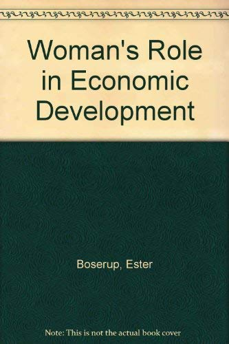 9780566051395: Woman's Role in Economic Development