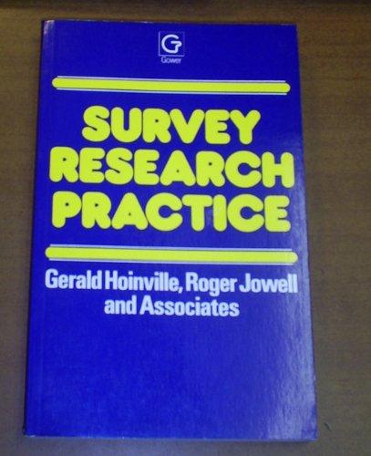 9780566051562: Survey Research Practice