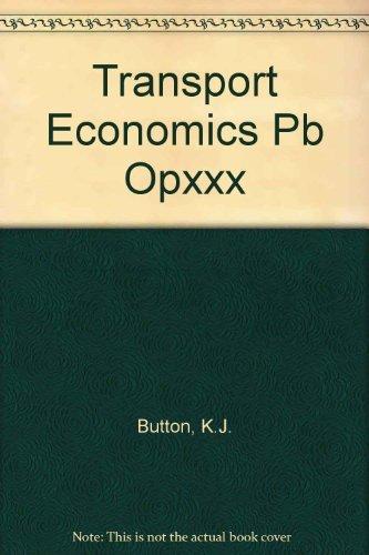 9780566051678: Transport Economics