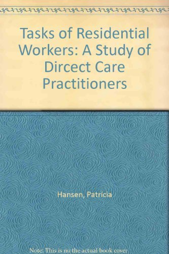 9780566056673: Tasks of Residential Workers: A Study of Direct Care Practitioners