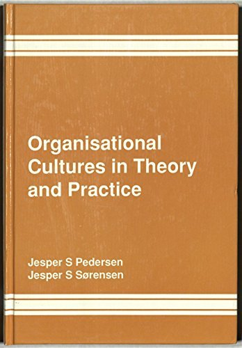 9780566070907: Organisational Cultures in Theory and Practice