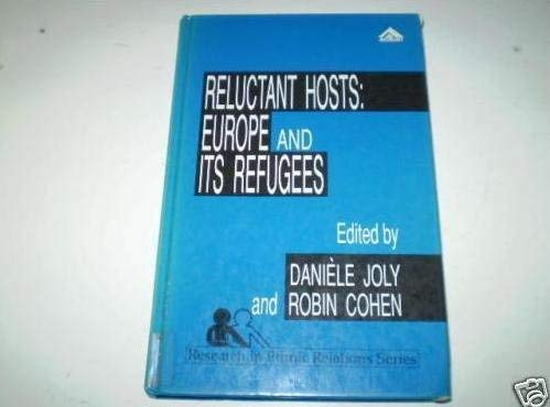 9780566071065: Reluctant Hosts: Europe and Its Refugees (Research in Ethnic Relations Series)